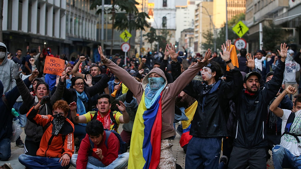 The anger driving Colombia's protest movement isn't going away anytime soon